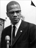 Malcolm X Prints by Maurice Sorrell