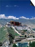 Potala Palace, Lhasa, Tibet Art by James Montgomery
