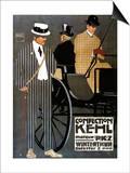 Switzerland - Confection Kehl Gentlemen Clothing Advertisement Poster Poster