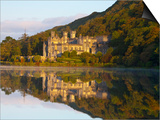 Kylemore Abbey, Connemara National Park, Connemara, Co, Galway, Ireland Prints by Doug Pearson