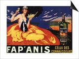 France - Fap'Anis Celui Des Connaisseurs Advertisement Poster Art