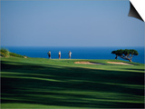 Golfers Play on the Championship Course, Algarve, Portugal Posters by Ian Aitken