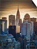 USA, New York, Manhattan, Midtown, Chrysler Building Prints by Alan Copson