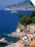 Sorrento, Bay of Naples, Italy Prints by Demetrio Carrasco
