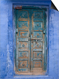 Traditional Blue Architecture, Jodhpur, Rajasthan, India Prints by Doug Pearson
