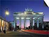 Brandenburg Gate, Berlin, Germany Posters by Jon Arnold