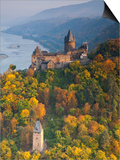 Burg Stahleck, Bacharach, Rhine Valley, Germany Posters by Doug Pearson