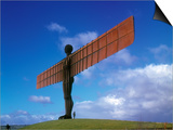 Angel of the North, Gateshead, Tyne and Wear, England Prints by Robert Lazenby