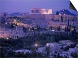 Parthenon, Acropolis, Athens, Greece Kunstdrucke von Peter Adams