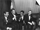 Sammy Davis Jr., Rat Pack - 1960 Print by Moneta Sleet