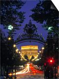 Triumphbogen, Paris, Frankreich Poster von Peter Adams