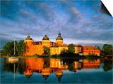 Gripsholm Castle, Mariefred, Sormland, Sweden Prints by Steve Vidler