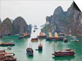 Vietnam, Halong Bay Prints by Steve Vidler