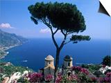 Villa Rufolo, Ravello, Amalfi Coast, Italy Print by Demetrio Carrasco