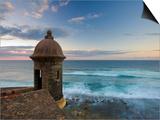 San Juan, Old Town, Fuerte San Cristobal, Puerto Rico Poster by Michele Falzone