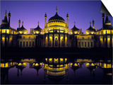 Royal Pavilion, Brighton, East Sussex, England Poster by Rex Butcher