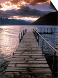 Lake Wakatipu, Queenstown, South Island, New Zealand Posters by Doug Pearson