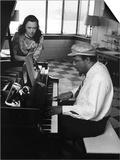 Thelonious Monk - 1964 Poster by Moneta Sleet