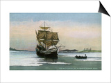 Plymouth, Massachusetts, Representation of the 1621 Mayflower Landing Prints