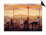 Winery Terrace Posters by Brent Lynch