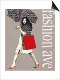 Fashion Type 2 Prints by Marco Fabiano