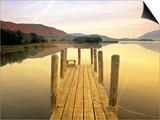 Derwent Water, Lake District, Cumbria, England Poster von Peter Adams