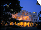 Raffles Hotel, Singapore Prints by Rex Butcher
