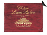 Chateau Bordeaux Posters by Martin Wiscombe