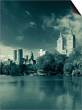 Central Park, New York City, USA Print by Walter Bibikow