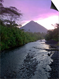 Arenal Volcano, Costa Rica Prints by John Coletti