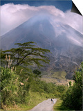 Arenal Volcano, Arenal, Costa Rica Poster by John Coletti