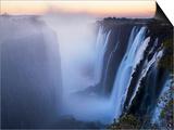 Victoria Falls, Zimbabwe Posters af Paul Joynson-hicks