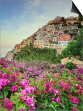 Italy, Campania, Salerno District, Peninsula of Sorrento, Positano Prints by Francesco Iacobelli