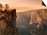 California, Yosemite National Park, Taft Point, El Capitan and Yosemite Valley, USA Prints by Michele Falzone