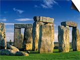 Stonehenge, Wiltshire, England Kunst von Peter Adams