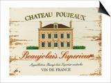 Chateau Poujeaux Prints by Martin Wiscombe