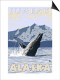 Humpback Whale, Juneau, Alaska Prints by  Lantern Press