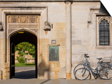 Oxfordshire, Oxford, High Street, Magdalin College, England Poster by Jane Sweeney