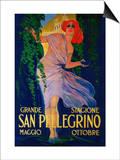 San Pellegrino Vintage Poster - Europe Prints