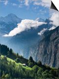 Wengen and Lauterbrunnen Valley, Berner Oberland, Switzerland Prints by Doug Pearson