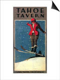 Lake Tahoe, California - Tahoe Tavern Promo Poster Poster by  Lantern Press