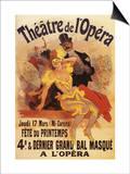 Paris, France - 4th Masked Ball at Theatre de l'Opera Promotional Poster Prints