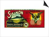 National Salmon Can Label - Kodiak, AK Posters by  Lantern Press