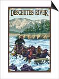 Deschutes River Rafting, Bend, Oregon Posters by  Lantern Press