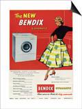 Bendix Gyramatic Posters