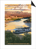Cottonwood Cove - Lake Mohave - Lake Mead National Recreation Area Art by  Lantern Press