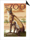 Visit the Zoo, Cheetah View Posters
