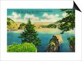 Deception Pass Bridge, Fidalgo and Whidby Islands - Deception Pass, WA Prints by  Lantern Press
