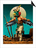 Hopi Eagle Dancer Kachina Prints