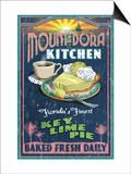 Mount Dora, Florida - Key Lime Pie Sign Posters by  Lantern Press